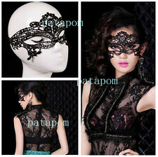 2016 Cute Sexy Lady Black Lace Hollow Eye Face Mask Masquerade Party Fancy Dress