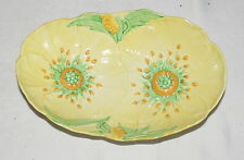 """Carlton Ware Buttercup 9"""" Oval Bowl - excellent"""