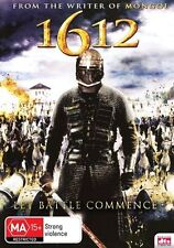 1612 (DVD) ACTION French/Russian Tsar is dead Chaos reigns [Region 4] NEW/SEALED
