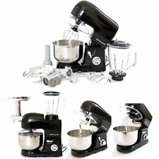 Charles Jacobs 3 in 1 Electric FOOD MIXER Multifunctional BLENDER MINCER Black
