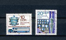 1978 DDR  Satz  gestempelt  Mi-Nr. 2316 + 2317  Weltfernmeldetag