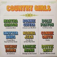 Country Girls Sampler: Nine Lovely Country-Ladies (RCA-Camden LP Australia 1970)