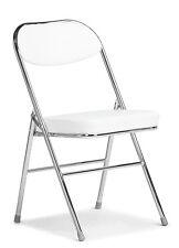 Stuhl Klappstuhl KATJA Stühle gepolstert weiß Essstühle Klappstühle