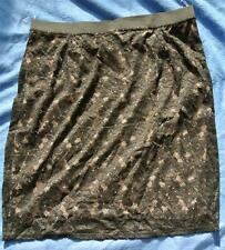 AUTOGRAPH Label Size 14 Black Lace STRAIGHT SKIRT. NEW rrp$99.99 Stretch NEW