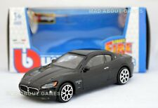 MASERATI GRAN TURISMO 1:43 Car Black NEW Model Diecast Models Cars Die Cast