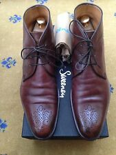 Oliver Sweeney Men's Brown Leather Lace Up Boots UK 8.5 US 9.5 EU 42.5 Noceto