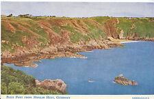 Channel Islands Postcard - Petit Port from Moulin Huet - Guernsey   A2276
