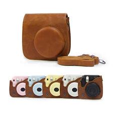 Camera Case Shoulder Bag Cover Leather For Fuji Fujifilm Instax Mini 8