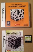 The Time Crossword Challenge Game For Ds Dsi Ds Lite 3Ds Nintendo Complete