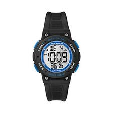 Timex TW5K84800 Marathon Digital Mid Marathon Alarm Chronograph Watch Black New