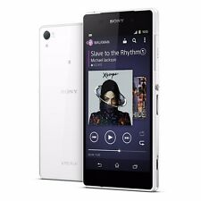 """Sony Xperia Z2 D6503 White 16GB GSM Factory Unlocked 5.2"""" Android Smartphone"""