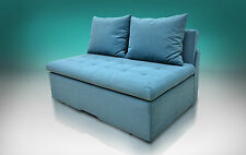 Super modern quilted sofa bed FUNKY,  all colours, SPRINGS AND STORAGE
