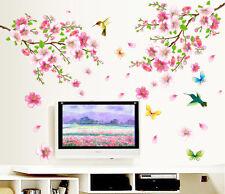 Removable PVC Plum Flower Birds Wall Decal Sticker Mural Home Decor ART DIY
