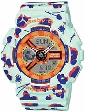Baby-G Flower Leopard Series Ladies Streetwear Watch BA110FL-3A