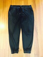 Cotton On-Black Glam Lounge Track Pant Size L