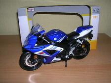 Maisto Suzuki GSXR750 / GSX-R750 / GSX-R 750 blau weiß,1:12