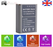 1350mAh BLN-1 BLN1 battery for Olympus Camera OM-D E-M5 EM5 PEN E-P5 UK LOCAL