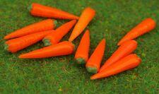 10 Karotten Futter Miniatur  Zubehör passend für Schleich Pferd Pferde Kaninchen