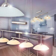 Pendellampe LED Design Hängeleuchte Wohn Zimmer Lampe Glas Esszimmer Leuchten