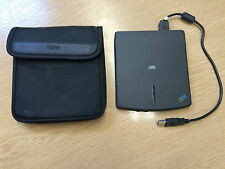 IBM USB Portable CD ROM Drive With Headphone Socket & Volume Knob & Wallet Case