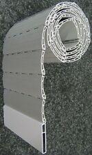 Rolladen Ersatz Profil 37 mm PVC laut Artikel Beschreibung 120 cm