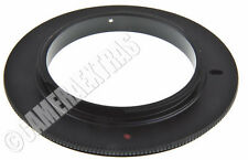 62mm Macro Reverse Lens Close Up Ring Adapter for Nikon AF F Mount UK
