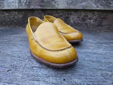 CHURCH LADIES LOAFER  – MUSTARD YELLOW – UK 5 – VERY GOOD CONDITION