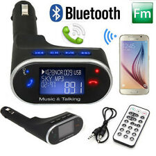 Wireless Bluetooth FM Transmitter Radio Adapter Handsfree Car Kit for iPhone 6