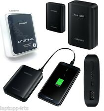 100% Genuine Samsung Portable Fast Charging Charger 10,200mAh Battery Pack Black