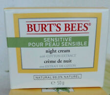 Burt's Bees Sensitive Night Cream 1.8 oz (50 g)