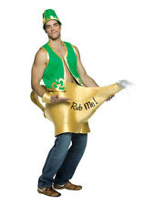 Adult Christmas Panto Genie In The Lamp Costume Fancy Dress One Size Brand New