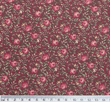 1.72 metre Pink ROSES Rosebuds Quilt Patchwork Cotton Fabric