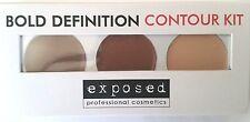 Exposed Bold Definition CONTOUR KIT PALETTE Bronzer Highlighter Beauty Contour