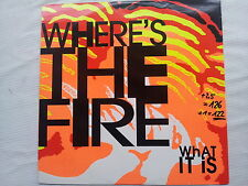 Where´s the Fire - What it is