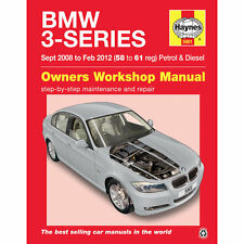 BMW 3 Series 2.0 Petrol 2.0 3.0 Diesel 2008 to 2012 Haynes Workshop Manual 58-61