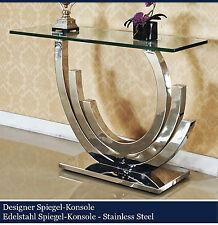 konsolentische aus glas ebay. Black Bedroom Furniture Sets. Home Design Ideas