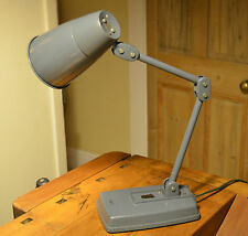 Vintage Industrial Chic Articulated Anglepoise Desk Lamp - Retro factory light