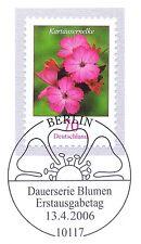 BRD 2006: Karthäusernelke Nr. 2529 mit Berliner Ersttags-Sonderstempel! 1A 1607