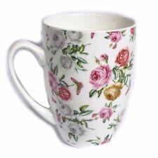 Tasse Kaffeebecher Becher Pott Kaffeepott altenglische Rosen Landhaus Look NEU