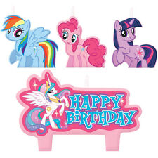 My Little Pony Birthday Party Cake Candles Set Of 4