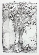 Blumenstrauß in Vase. 1979, handsigniert