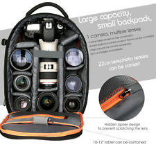 K&F Concept Waterproof DSLR SLR Camera Backpack Bag Case for Canon Nikon Sony
