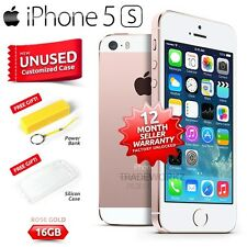 New in Sealed Box Factory Unlocked APPLE iPhone 5S Rose Gold 16GB 4G Smartphone