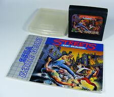 STREETS OF RAGE für Sega Game Gear - nur GG Modul mit Anleitung