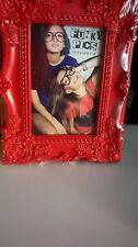 2 Vintage Style Red Shabby Chic 4x6  Photo Frames new christmas