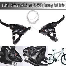Shimano 7 Speed Ez Fire Rapidfire MTB Gear Brake Lever Shifters ST-EF51 Black
