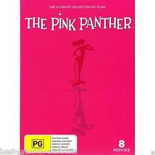 The PINK PANTHER: The ULTIMATE Collection Of Films DVD 8-MOVIES BRAND NEW BOX R4