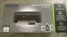 NEW INKJET EPSON PRINTER WORKFORCE WF-2010W WITH INKS WAS £47.50 REDUCED £45.00