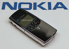 NOKIA 8810 NSE-6NX SLIDER-HANDY MOBILE PHONE CHROME MADE IN FINLAND NEU NEW SWAP