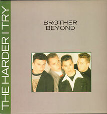 "BROTHER BEYOND - The Harder I Try (Remix)       12"" Maxi  Single VG++"